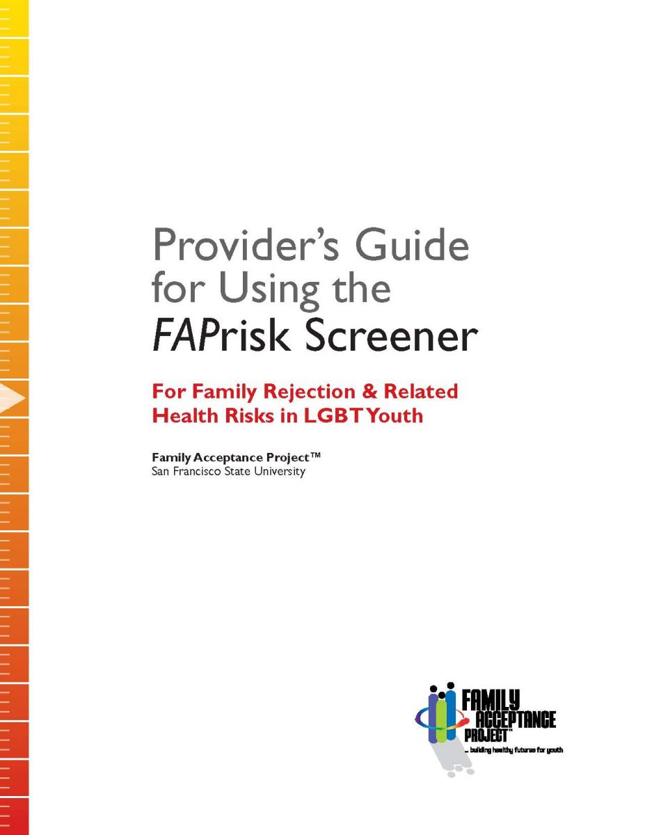assessment | family acceptance project ®