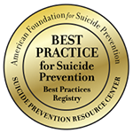 Best Practice for Suicide Prevention logo