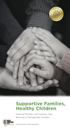 Supportive Families, Health Children Book Cover English Version