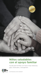 Supportive Families, Healthy Children Book Cover Spanish Version