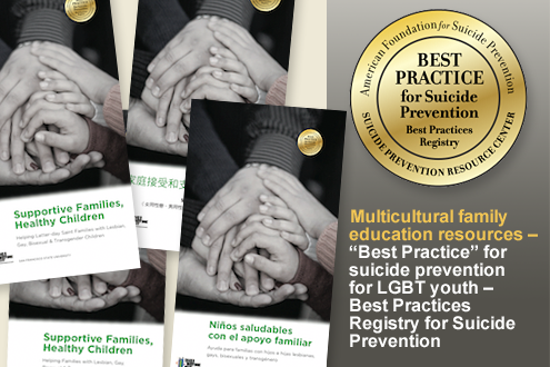 Award Image for Best practice for suicide prevention